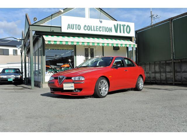 アルファロメオ 2.5 V6 24V 6MT 1オーナ 禁煙 タン革