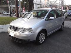 VW ゴルフトゥーランGLi HDDナビ 地デジ DVD ETC キセノン アルミ