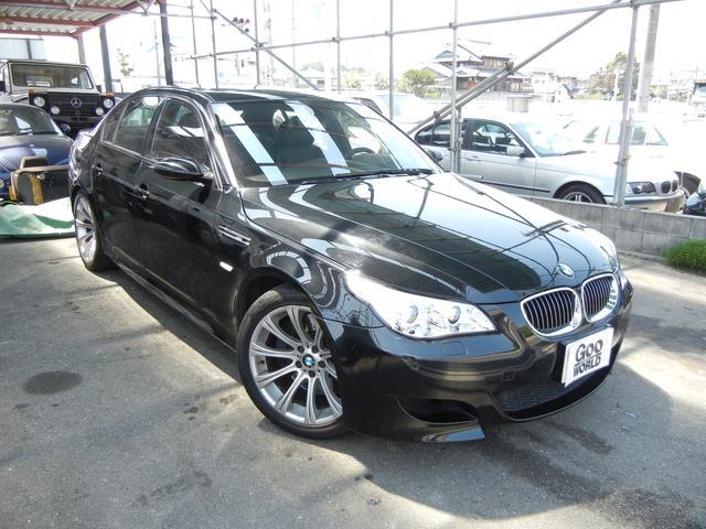 BMW M5 サンルーフ パワーシート 19インチアルミ