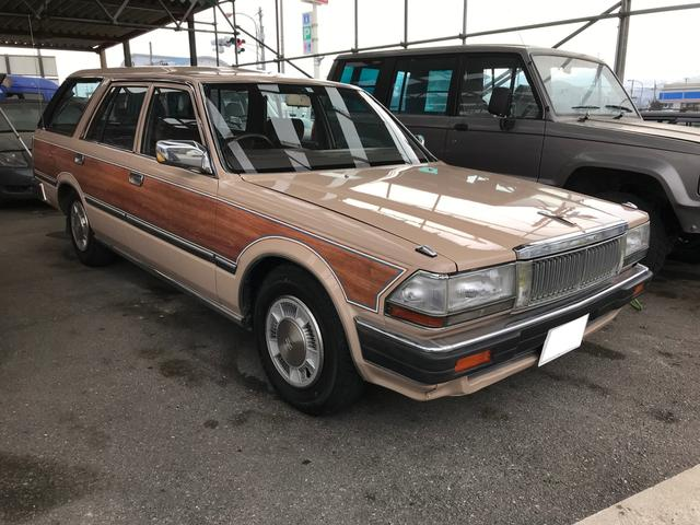 日産 28Dワゴン ワンオーナー 4ナンバー登録 全塗装済み