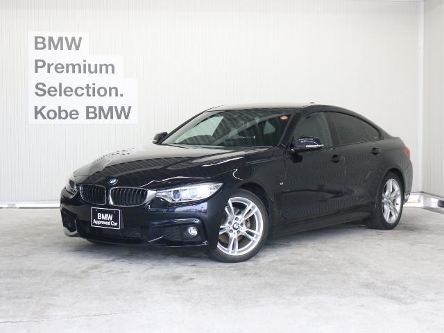 BMW 420iグランクーペ Mスポーツ 黒革 ACC Dアシスト