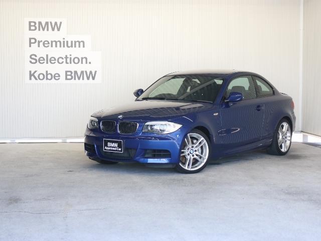 BMW 135i Mスポーツ 黒革 ウッドトリム パドル 純正ナビ