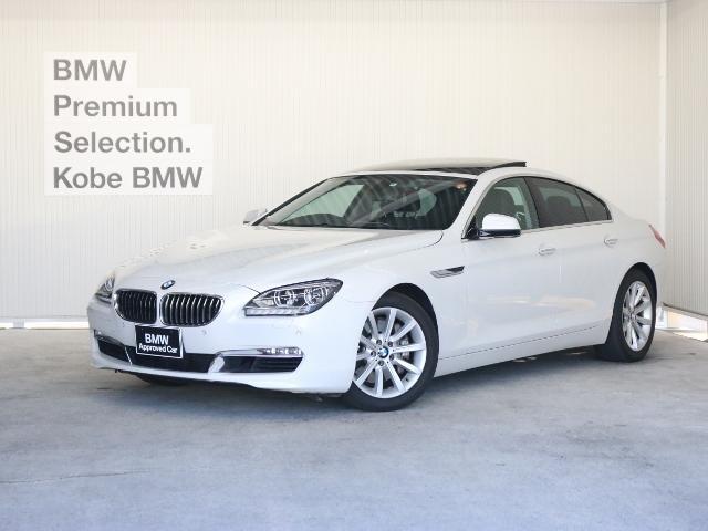 BMW 640iグランクーペ 黒革 ガラスSR LEDヘッド