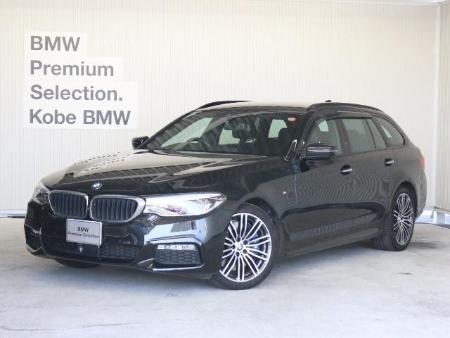 BMW 540i xDriveツーリングMスポーツ デビューP 黒革