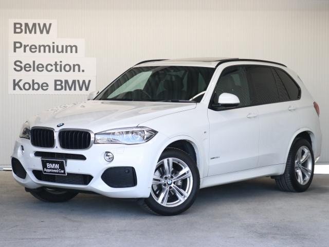 BMW xDrive 35d Mスポーツ7人乗り LED 黒革
