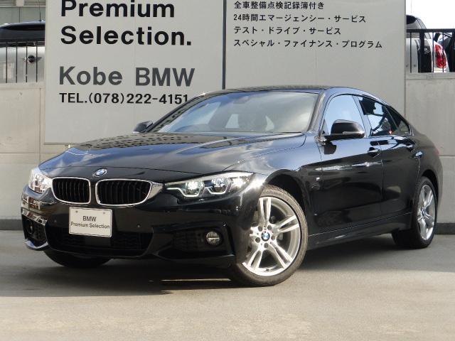 BMW 420iグランクーペ MスポーツACCDアシストシートヒータ