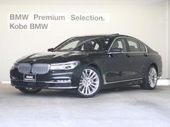 BMW750iデザインピュアエクセレンス モカ革ACC HUD