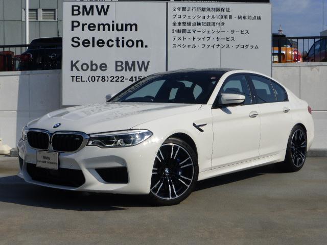BMW M5コンフォートPKG ACC HUD 黒メリノレザー