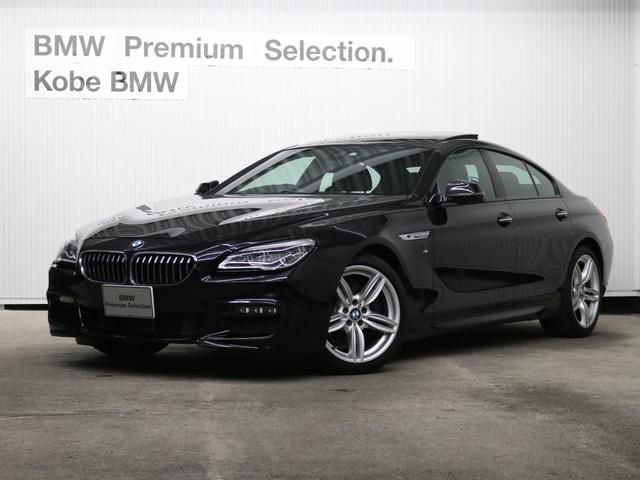 BMW 640iグランクーペ Mスポーツ黒革サンルーフコンフォート