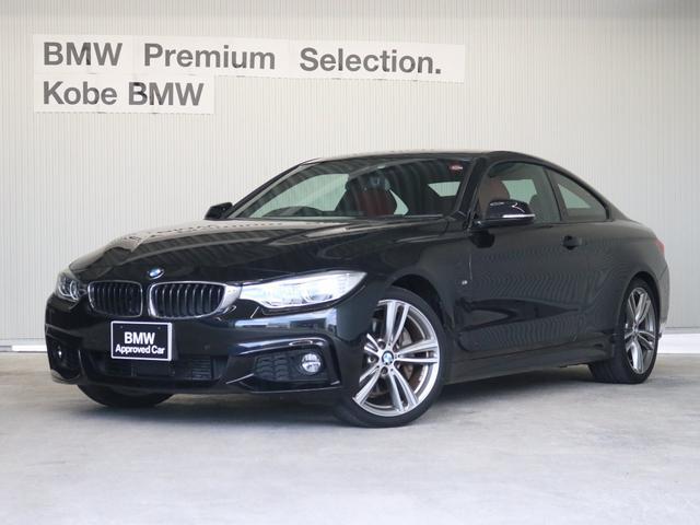 BMW 435iクーペ Mスポーツタイヤ4本新品 赤革ACC19AW