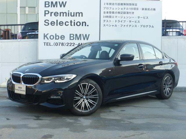 BMW 320iMスポーツ黒革コンフォートPKG電動トランクETC