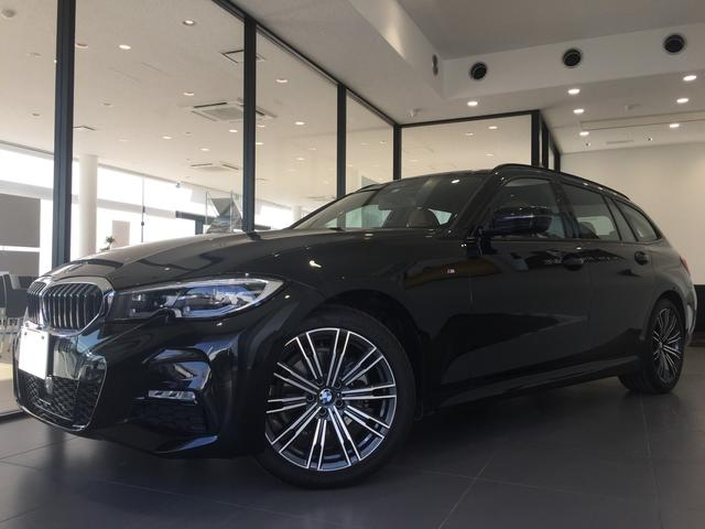 BMW 320d xDriveツーリング Mスポーツ 1オーナー ハイラインコンフォートパッケージ アダプティブクルーズコントロール LEDヘッドライト 電動リアゲート 全周囲カメラ バックカメラ 茶革シート シートヒーター 18インチアルミホイール