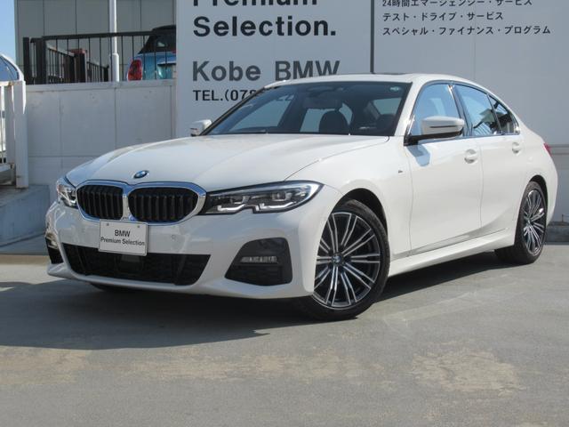 BMW 320d xDriveMスポーツハイラインパッケージ 弊社デモカー サンルーフ 黒レザー 電動トランク シートヒーター アンビエントライト パドルシフト ACC レーンキープコントロール ドライビングアシスト 18インチAW BMWライブコックピット