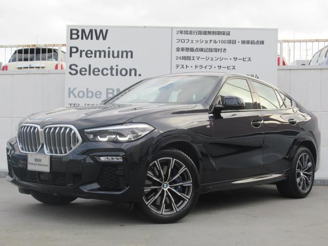 BMW X6 xDrive 35d Mスポーツ 黒革 アダプティブMサス ソフトクローズドア シートH前後席 4ゾーンAAC ヘッドアップディスプレイ キドニーグリルアイコニックグロー 保冷&保温機能付カップホルダー 全周囲カメラ 20inAW