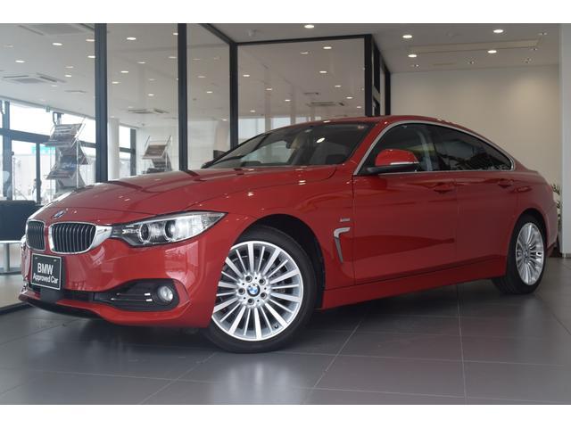BMW 420iグランクーペ ラグジュアリー 純正HDDナビ バックモニター PDCセンサー DVD再生 ミュージックサーバー マルチファンクション レーダークルーズコントロール 電動トランク インテリジェントセーフティー コンフォートアクセス