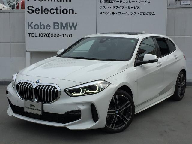 BMW 118d Mスポーツ エディションジョイ+ 電動パノラマサンルーフLEDヘッドライト バックカメラ リバースアシスト 前後センサー アクティブクルーズコントロール 電動リアゲート 純正ミラーETC スマートキー AIアシスタント 純正HDDナビ