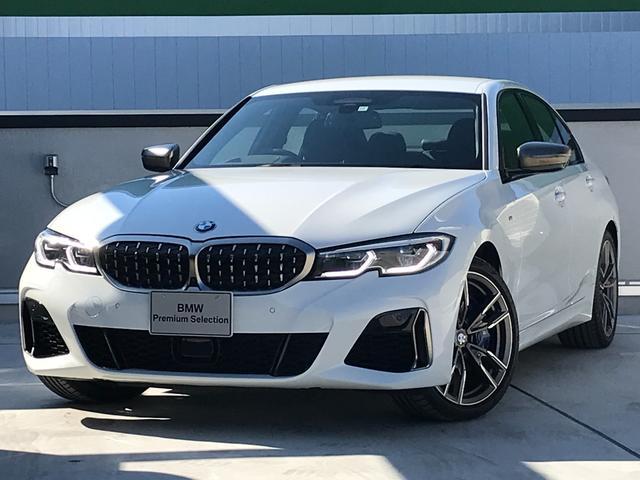 BMW 3シリーズ M340i xDrive アダプティブMサス Mスポーツブレーキ BMWレーザーライト ヘッドアップディスプレイ ジェスチャーコントロール 地デジ harman/kardon 黒レザー ランバーサポート ストレージPKG