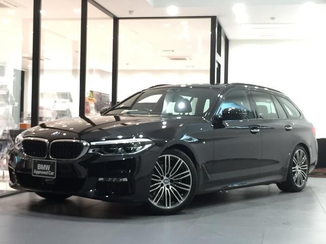 BMW 523iツーリング Mスポーツ アクティブクルーズコントロール 全周囲カメラ 前後PDC 電動リアゲート 電動シート 衝突被害軽減ブレーキ フルセグTV 純正ミラーETC 純正HDDナビ アダプティブLEDヘッドライト フォグ
