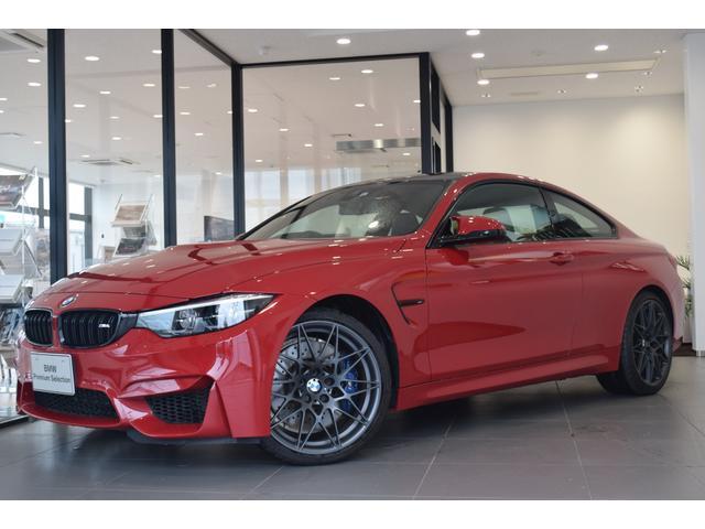 BMW M4 M4クーペ エディションヘリテージ 国内限定5台特別仕様車EditionHeritage オービットグレー20AW Mストライプ入りカーボンルーフ カラーコーディネートメリノレザー M Heritageドアシルプレート1/750