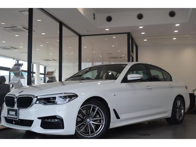 BMW 5シリーズ 523d xDrive Mスピリット 弊社デモカー ハイラインPKG ブラックレザー 前後シートヒーター コンフォートアクセス アクティブクルーズコントロール ヘッドアップディスプレイ 電動シート アダプティブLEDヘッドライト