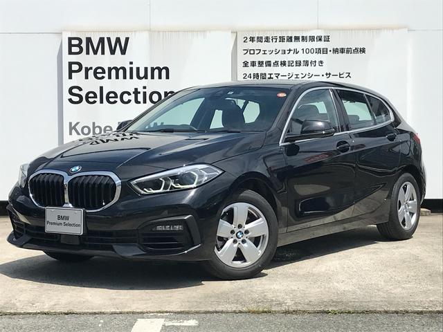 BMW 118i プレイ 弊社デモカー BMW アルミニウムライン オートマチックテールゲートオペレーション クルーズC コンフォートPKG ワイヤレスチャージング パーキングアシスト 16AW