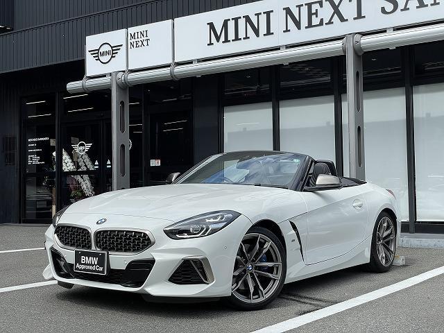 BMW Z4  ブラックレザー シートヒーター アクティブクルーズコントロール リアカメラ  BMWライブコックピット harman/kardonスピーカー アダプティブLEDヘッドライト 電動シート 19インチAW
