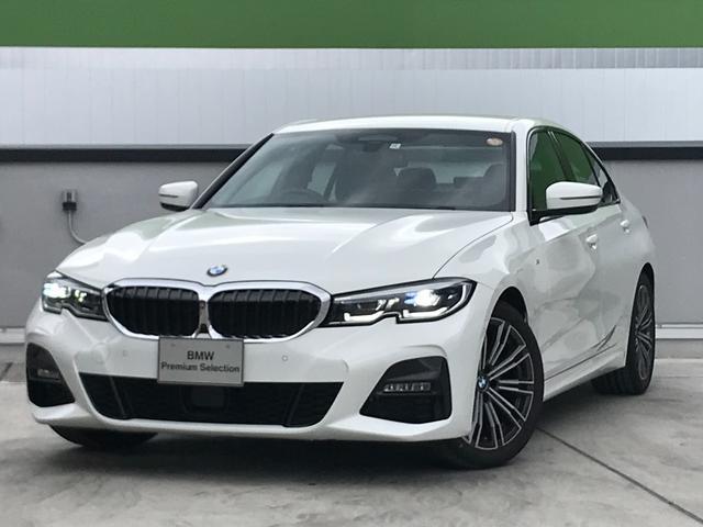 BMW 320i Mスポーツ 弊社デモカー ハイラインパッケージ コンフォートパッケージ パーキングアシスト 後退アシスト 全周囲カメラ 純正18インチアルミホイール 純正HDDナビ アクティブクルーズコントロール 認定中古車