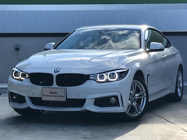BMW 4シリーズ 420iグランクーペ Mスピリット 弊社デモカー アクティブクルーズコントロール メモリー機能付き電動シート 電動リアゲート 純正18インチアルミホイール ETC内蔵型ミラー BMWセーフティ 純正HDDナビ LEDヘッドライト