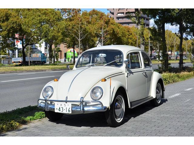 """フォルクスワーゲン 1965y """"大5"""" シングルナンバー"""