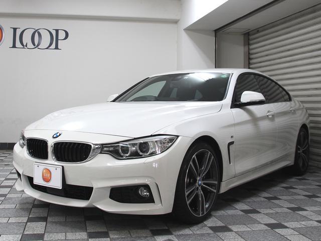 BMW 420iグランクーペ Mスポーツ ファストトラックパッケージ ワンオーナー アダプティブクルーズコントロール レーンデパーチャーウォーニング 衝突軽減ブレーキ コンフォートアクセス