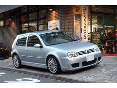 VW ゴルフR32 3ドア 左ハンドル 6MT 革シート 4MOTION