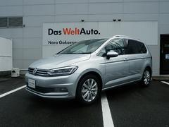 VW ゴルフトゥーランTSI ハイライン VW純正ナビ 自動ブレーキ歩行者検知付