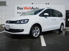 VW シャラン新型TSIハイライン 純正ナビ レザーシート 電動サンルーフ