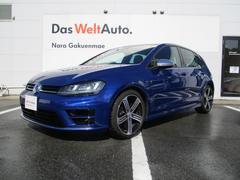 VW ゴルフRベースグレード VW純正ナビ コーナーセンサー 認定保証1年