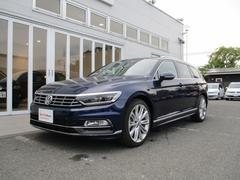 VW パサートヴァリアント新型2.0TSI Rライン9.2インチナビ デジタルメーター