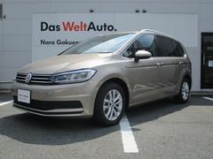 VW ゴルフトゥーラン新型TSIコンフォートライン アップグレードPKG 純正ナビ