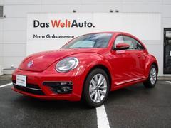 VW ザ・ビートルデザイン レザーシート 純正ナビ 死角検知 後方自動ブレーキ
