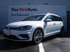 VW ゴルフヴァリアント新型TSI Rライン 9.2インチ純正ナビ レザーシート