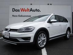 VW ゴルフオールトラック新型TSI 4モーション 9.2インチ純正ナビ テックPKG