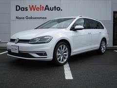 VW ゴルフヴァリアント新型TSI コンフォートライン テックエディション 純正ナビ