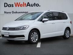 VW ゴルフトゥーラン新型TSIコンフォートライン 純正ナビ 死角検知 歩行者検知