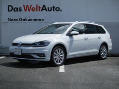 VW ゴルフヴァリアント新型TSIコンフォートライン テックエディション 純正ナビ