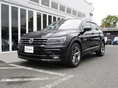 VW ティグアン新型TSI Rライン 純正ナビ 死角検知 デジタルメーター