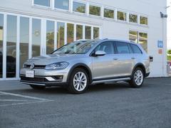 VW ゴルフオールトラック新型TSI4モーション VW純正ナビ テクノロジーPKG