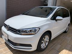 VW ゴルフトゥーラン新型TSIコンフォートライン 純正ナビ アップグレードPKG