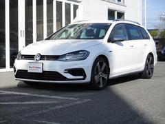 VW ゴルフRヴァリアント新型モデル VW純正ナビ 死角検知 デジタルメーター DCC