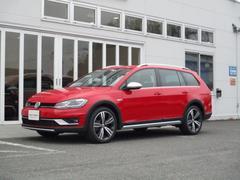 VW ゴルフオールトラック新型TSI 4モーション マイスター レザーシート 純正ナビ