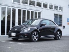 VW ザ・ビートル新型Rラインマイスター VW純正ナビ レザーシート 死角検知