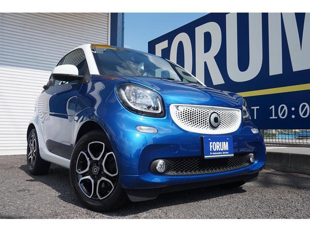 スマート エディション1 ミッドナイトブルー 220台限定車