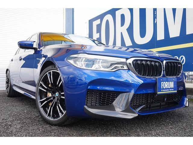 BMW M5 左ハンドル カーボンセラミックブレーキ B&Wサウンド
